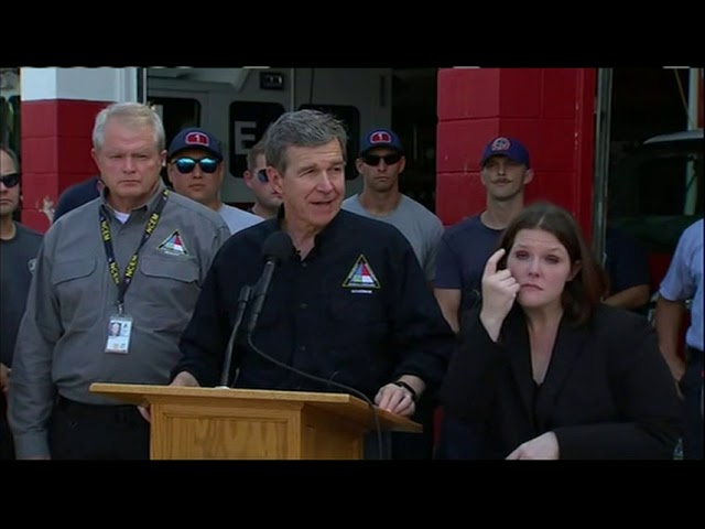 Search and rescue continues in NC after Florence