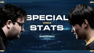 SpeCial vs Stats TvP - Quarterfinals - 2018 WCS Global Finals - StarCraft II