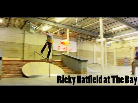 Ricky Hatfield at The Bay Skatepark