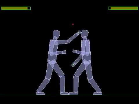 Box2D boxing ragdoll 3 - YouTube