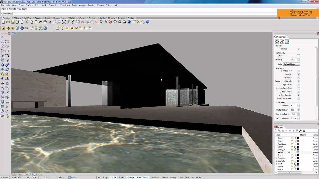 how to change focal lenght sketchup
