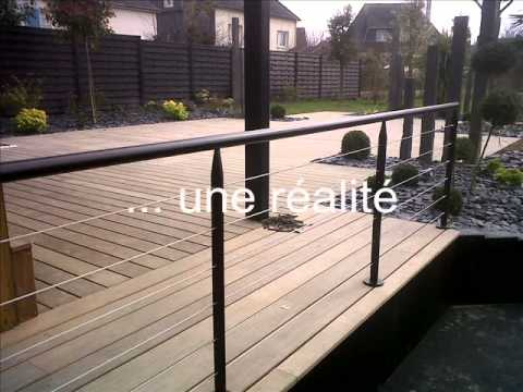 Installation d 39 une terrasse bois dans les regles de l 39 art - Installer une terrasse en bois ...