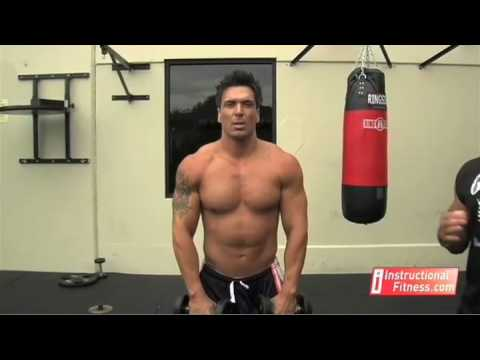 Instructional Fitness - Dumbbell Front Raises