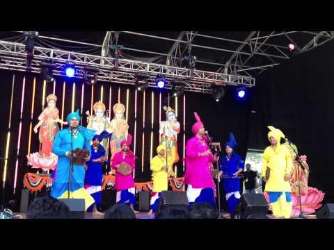 Punjabi Folk Dance Academy Auckland Performance Malwai Giddha...