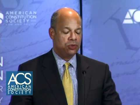 A Conversation with Jeh C. Johnson, General Counsel of the Department of Defense