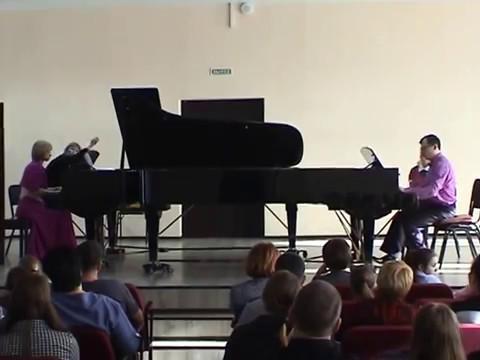 Аренский Антон - Сюита для 2-х фортепиано №1