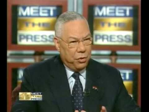 Colin Powell Saying He Was Misled Before UN Speech on WMDs