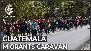 US sends asylum seekers to Guatemala as new caravan heads north