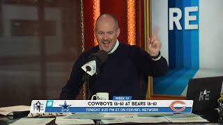 """Monster Big"" - Rich Eisen on What's at Stake in Cowboys vs Bears on TNF 