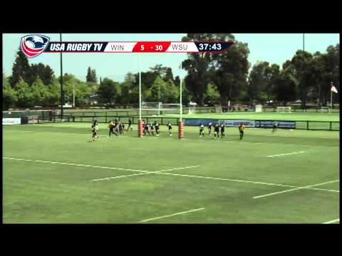 2013 Emirates Airline USA Rugby Women's College Championship - WINvWSU
