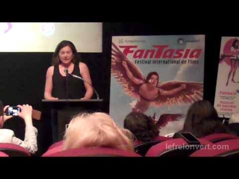 Extraits de la conférence de presse du festival Fantasia 2013