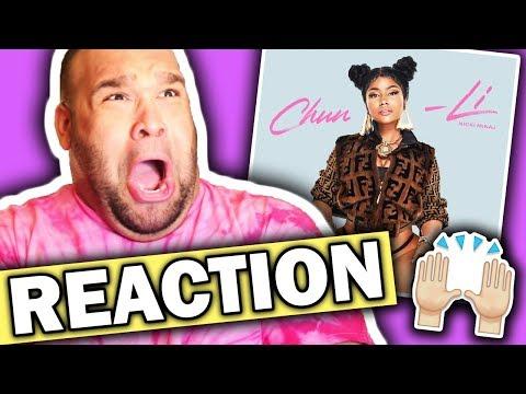 Nicki Minaj - Chun-Li [REACTION]