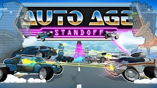Auto Age: Standoff - 80's Saturday Morning Cartoon CAR COMBAT! (Horde Mode Gameplay)