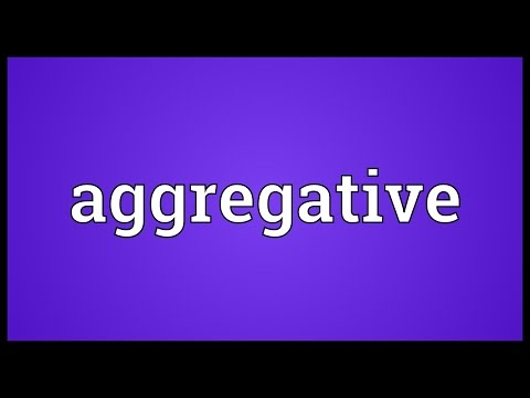 Header of Aggregative