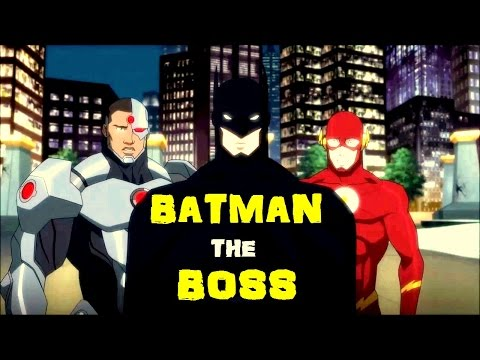 Batman is the Boss of Justice League || Justice League Vs Teen Titans 2016 Movie ||