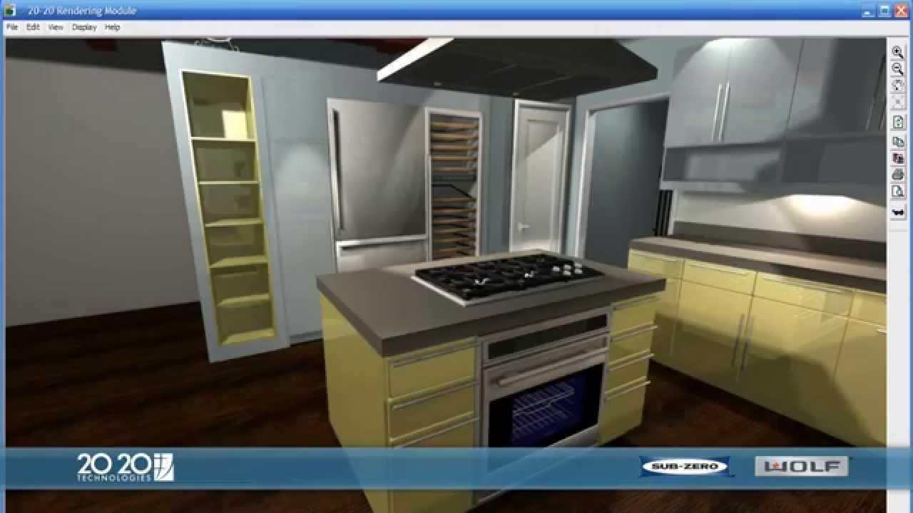 20 20 design electrodom sticos en el dise o de cocinas for Diseno de interiores cocinas