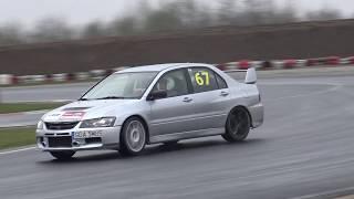 Paweł Budzik- Mitsubishi Lancer Evo IX - Puchar Toru Słomczyn 2 Runda Autodrom Słomczyn 13-04-2019