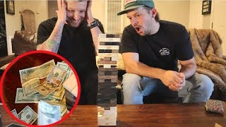 $1,000 GAME OF JENGA!!