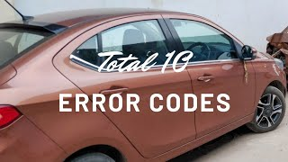 Lots of ERROR CODES in my 1.5 Year Tata Tigor