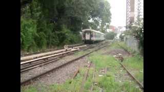 Ferrocentral 265 haciendo su paso por Belgrano R