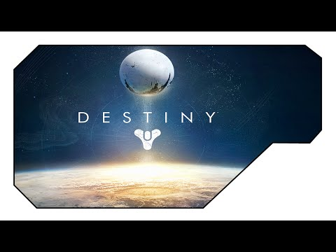 Destiny Beta PS4 - Character Creation and Level 1 Introduction! EPIC!