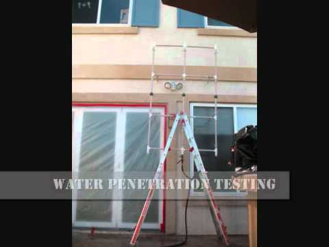 Window Door And Wall Water Leak Testing And Leak Detection Youtube