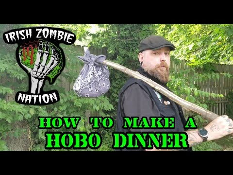 How to make a Hobo Dinner - Quick and Easy Delicious Camp Fire Meal