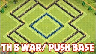 Clash Of Clans - EPIC TH 8 WAR & TROPHY