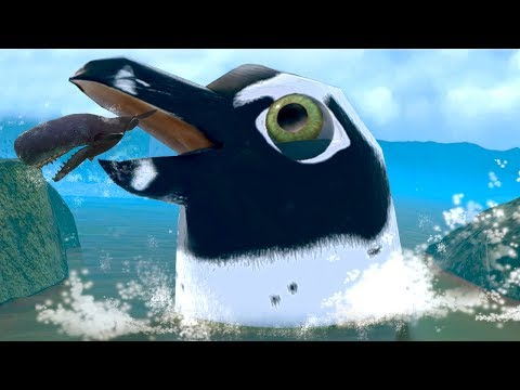 THE GIANT PENGUIN SEEKS REVENGE!!! - Fish Feed Grow