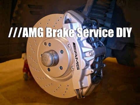 Brake Pad & Rotor Replacement DIY | Mercedes W211 E55 AMG
