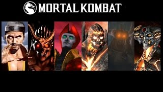 Bosses Defeated: Mortal Kombat 1 to Mortal Kombat X (Update)