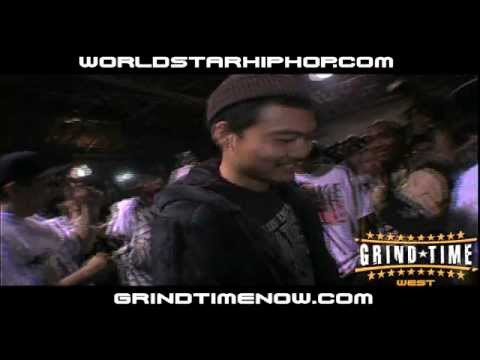 GrindTimeNow.NET: Dumbfoundead vs The Saurus Pt.1