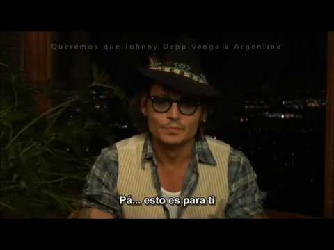 Johnny Depp Mensaje para el padre Subtitulado