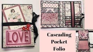 Mini Album Pocket Cascading Folio