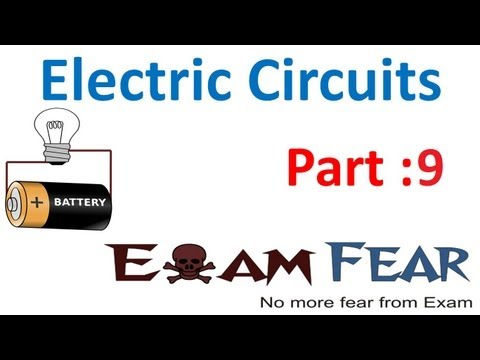 Physics Electric Circuits part 9 (NUmericals: Cell parallel, series) CBSE class 12