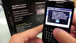 BlackBerry Curve for Cricket Wireless Review Part 2 - Apps N Stuff