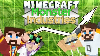 Minecraft - Monster Industries 1 - Making Paper