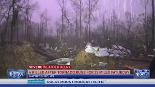 15 dead after tornadoes sweep southeast states