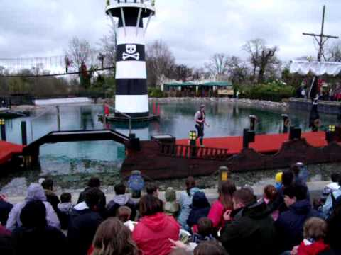 Legoland Windsor Pirates of Skeleton Bay new for 2010 part 1