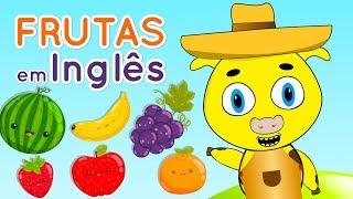Frutas em inglês - Nome das frutas em inglês - Como falar as frutas em inglês