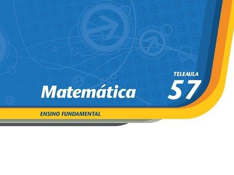 57 - Calculando volumes - Matemática - Ens. Fund. - Telecurso