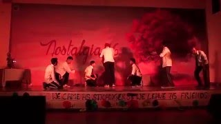 LNMIIT Y12 Boys Perform Comedy Dance in Nostalgia'16