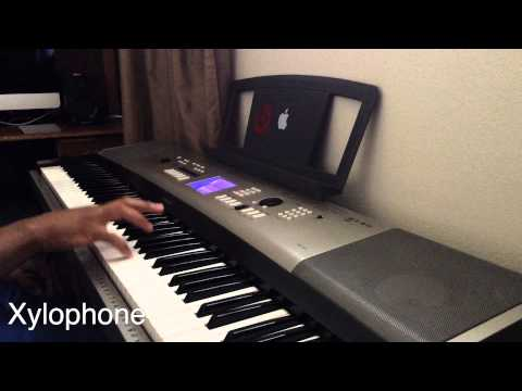 Apple Ringtones on the Piano