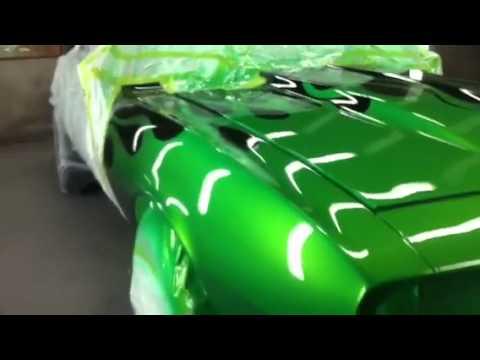 68 Camaro Kandy Paint House Of Kolor Flames Standox Hs