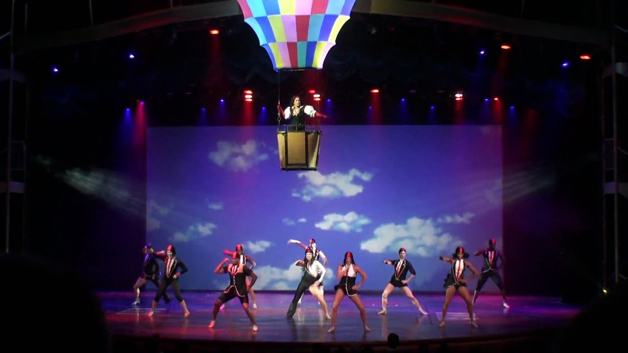 31 Come Fly With Me Show 01 Oasis Of The Seas Royal Caribbean International Youtube