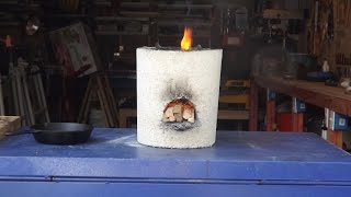 The Making of a Rocket Stove