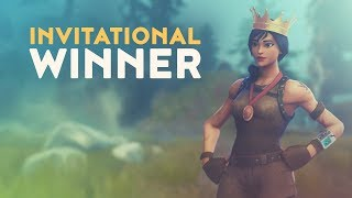 INVITATIONAL WINNER (Fortnite Battle Royale)
