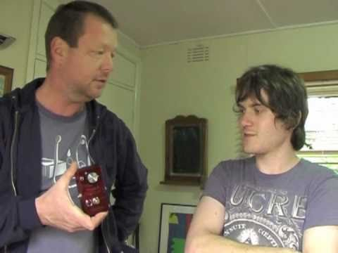 Dazatronyx: (interview and demo) Class A Germanium Amplifier with Strat to Laney VC50