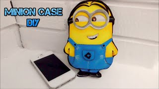 How To Make An Easy Minion Case With Eva Or Foam. DIY Easy Crafts