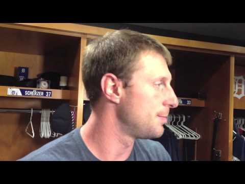 Video: Max Scherzer helps Detroit Tigers move into first-place tie: 'This was a playoff-type start'